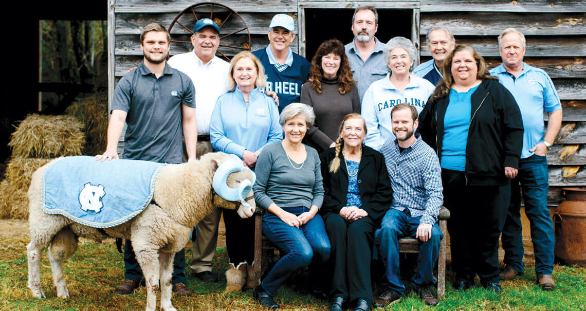 Family that Takes Care of UNC's Mascot
