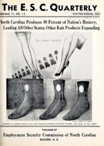 """Cover of """"The E.S.C. Quarterly"""" magazine, circa 1953."""