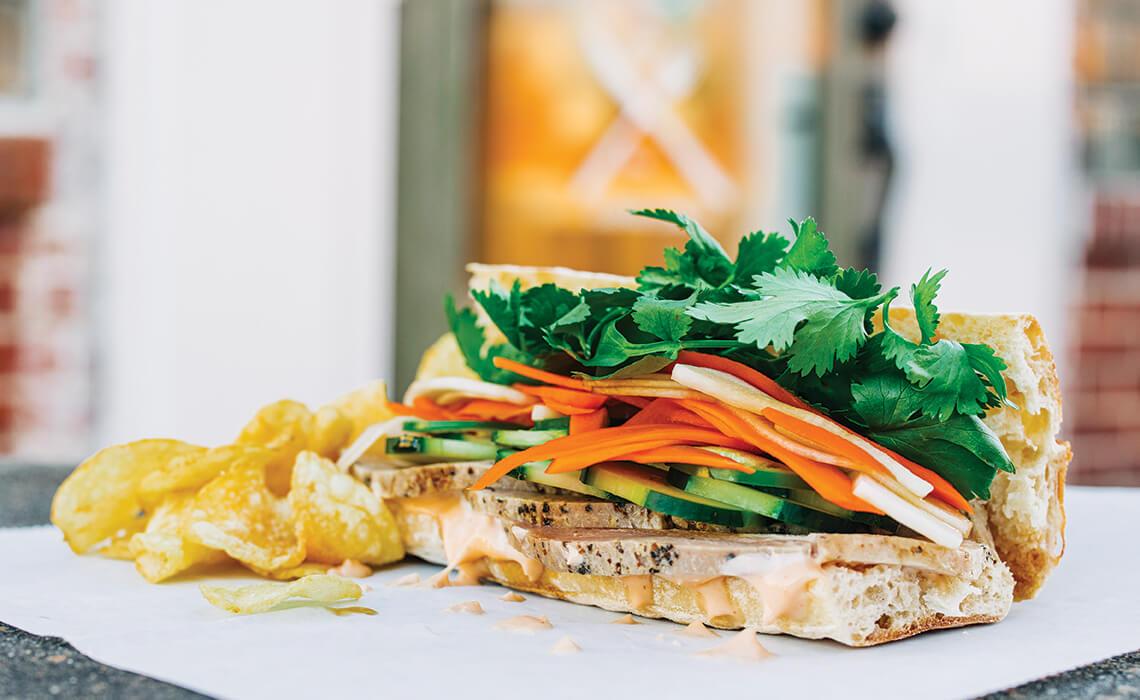 Vietnamese pork bánh mì