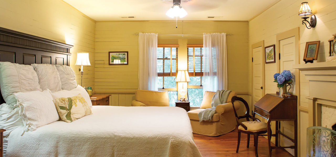 Interior shot of the Dreamdale Room at Buck House Inn.